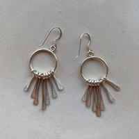 Kalen Silver Earrings / Tassel