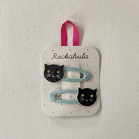 Rockahula Kids / Hair Clip  Black Cats