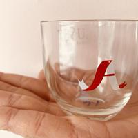 うそみたいなコップ Aさんのためのガラスカップ