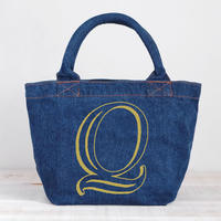 Organic Denim Tote N / Ginger Beach Inn Original