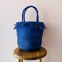 Sisal Basket / Indigo Blue