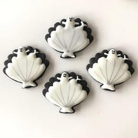 Shell Ghost Icing Cookies