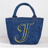 Organic Denim Tote J / Ginger Beach Inn Original