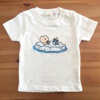 くまごろーベビーTシャツ(ぺんぎん)
