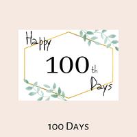 【月齢フォト 100日目Baby】