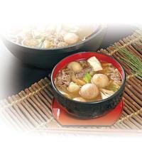 【山形の郷土料理】いも煮+お酒セット(4人分)クール代・送料込み 着日指定 (S-502)