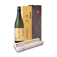 【ホワイトデイ特別企画】辛口純米大吟醸&東光の酒粕入りホワイトマカロン (S-501)