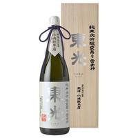東光 純米大吟醸袋吊り 雪女神 1800ml(桐箱入)