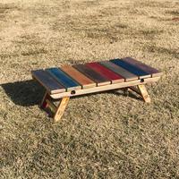 fustworks  recycleskatedeck Folding mini camp side table-02
