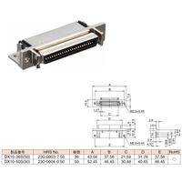 ハーフピッチコネクター DX10-50S(50)
