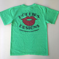 HOT LIPS DESIGNS TEE グリーン