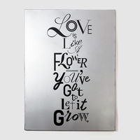 Love on Canvas「Queen Silver (L)」