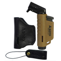 SOTO Leather Case & Micro Torch coyote
