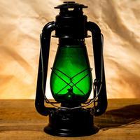 W.T.Kirkman Lanterns No. 1 『Little Champ』Black Green Globe