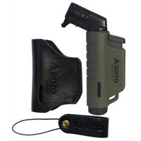 SOTO Leather Case & Micro Torch army green
