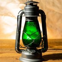 W.T.Kirkman Lanterns No. 1 『Little Champ』Silver Green Globe