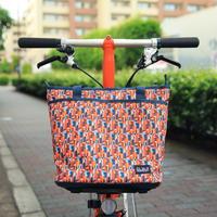 BROMPTON Tote Bag 9L [Liberty-Orange Multi]