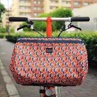 BROMPTON Basket Bag 23L [Liberty-Orange Multi]