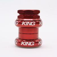 Chris King GripNut 1-1/8 [Red BOLD]