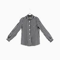 204014 パラシュート釦 ラウンドカラーシャツ