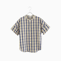 204334 キューブチェックシャツ