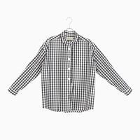 204813 先染ピンオックス パラシュートボタンシャツ
