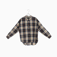 204010 ビッグタータンチェックシャツ