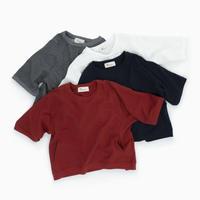 209312 ミニ裏毛ポケット付Tシャツ