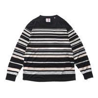 SON OF THE CHEESE / tensel border shirt (BLACK)