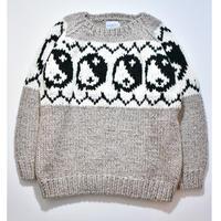 Black Weirdos / Yin Yang Knit (Gray)