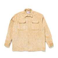 SON OF THE CHEESE / BIG CORD FLAP Shirt(BEIGE)