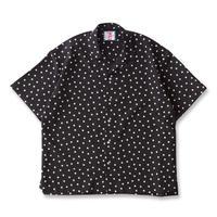 SON OF THE CHEESE / rain dot shirts  (BLACK)