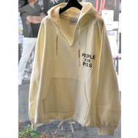 Black Weirdos / Hooded Sweatshirt(WHITE)