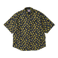 SON OF THE CHEESE / Flower Shirt (NAVY)