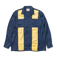 SON OF THE CHEESE / bowling shirt(NAVY)