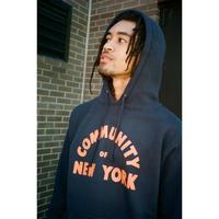 Only NY / Community of NY Hoodie ( Navy )