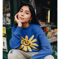 Only NY / Flower Knit Sweater (Marina)