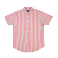 Only NY / Blue Point Short Sleeve Button up Shirt (Salsa)