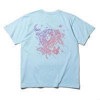 RUTSUBO / Sunset T-Shirts (RUTSUBO×Yoskay Yamamoto)  LT.BLUE