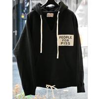 Black Weirdos / Hooded Sweatshirt (BLACK)