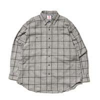 SON OF THE CHEESE / Big Check Shirt(GRAY)