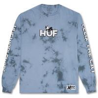 HUF / FELIX CRYSTAL WASH L/S TEE (LIGHT BLUE)
