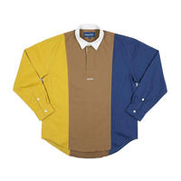 Only NY /TRI-COLOR POPOVER SHIRT(Camel/Multi)