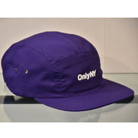 Only NY / Logo 5-Panel Hat  ( Purple )