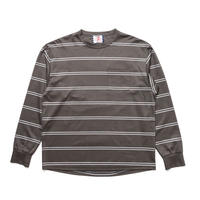 SON OF THE CHEESE / REF Border Tee(GRAY)