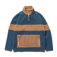 SON OF THE CHEESE / Fleece zip(BLUE)