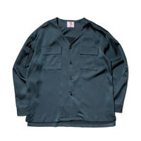 SON OF THE CHEESE / NO COLLAR Shirt(NAVY)