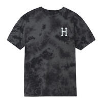 HUF / CLASSIC H WATERCOLOR S/S TEE (BLACK)