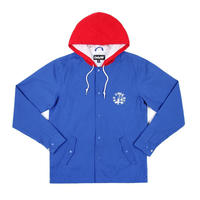 Only NY / Newport Hooded Coach JKT (BLUE)