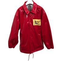Black Weirdos / Enamel Coach jacket (Red)